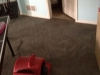 Dry Basement Carpet following cleaning.