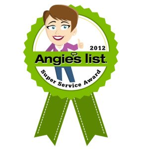 Gentle Clean Carpet Care is an Angie's List Super Service Award Winner for 2012