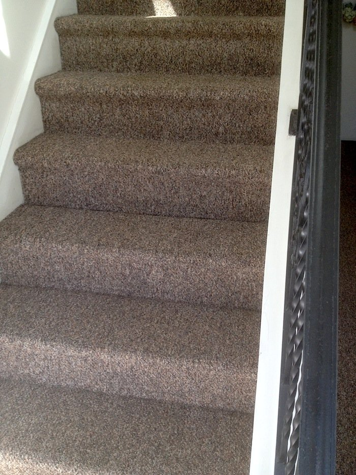 Check out these clean stairs!