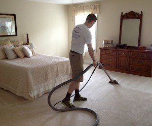 Gentle Clean Carpet Care cleaned these carpets in Blue Bell.