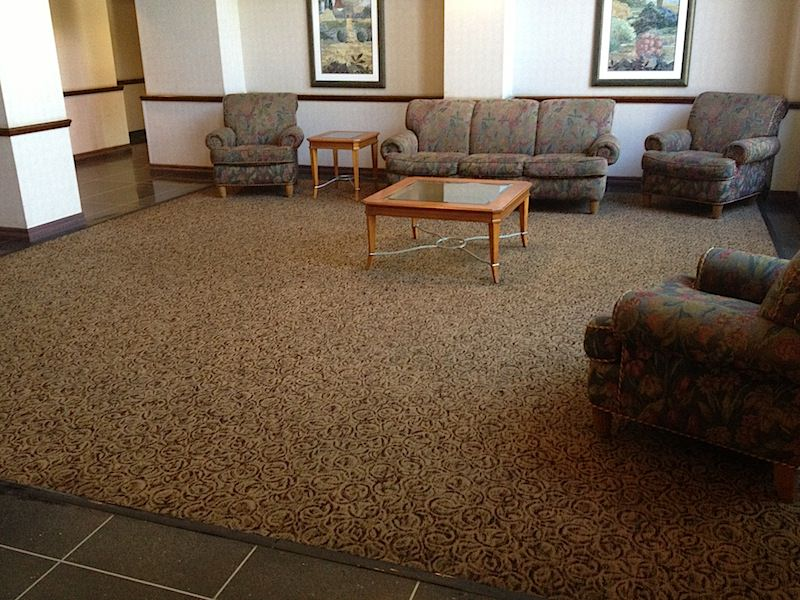 Gentle Clean cleaned carpets at an apartment complex in King of Prussia.